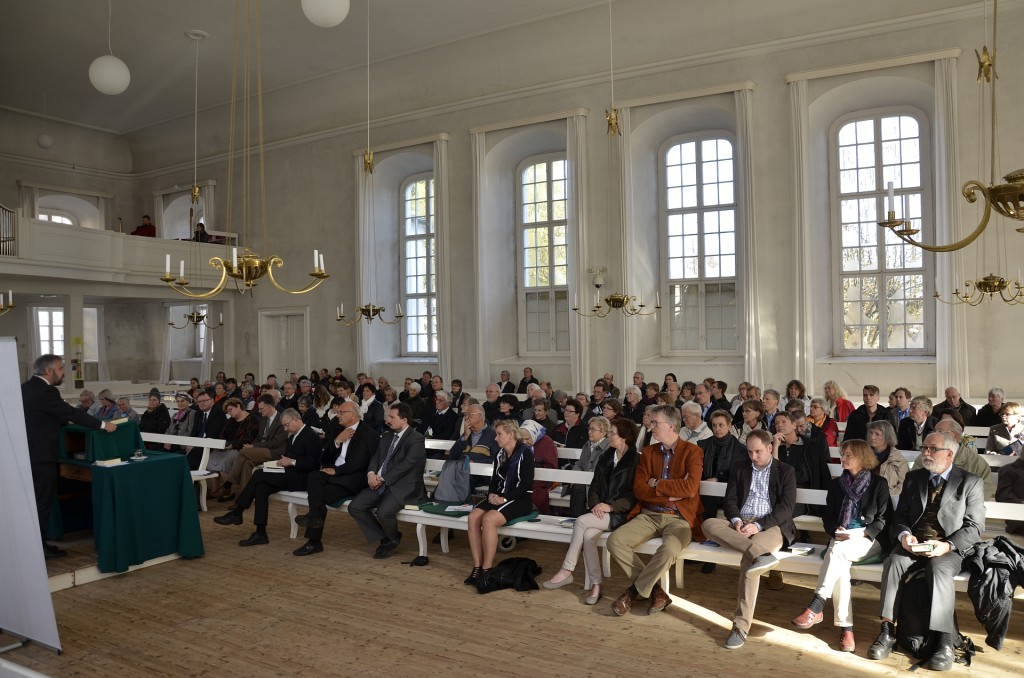 Verleihung des Jan Hus Predigtpreises 2015 im Herrnhuter Kirchensaal